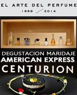 """Cena Degustación Maridaje con los perfumes de la exposición """"EL ARTE DEL PERFUME 1889-2014"""" sábado, 7 de febrero de 2015"""