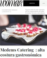 "CATERING CON MUCHO ESTILO: Medems Catering: ""alta costura gastronómica"""