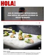 """HOLA.com incluye a Medems en su artículo """"Guía de direcciones imprescindibles para novias que quieran celebrar su enlace en Madrid"""""""
