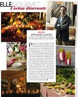"""ELLE GOURMET INVIERNO 2018 N°19-SPAIN- MEDEMS ARTESANÍA GASTRO La cocina 'tailor made' está en el ADN de una firma que acaba de cumplir 30 años"""""""