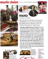 Revista MARIE CLAIRE – pág 149 – noviembre 2014