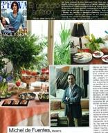 El perfecto anfitrión – TELVA -nº889- pgs.125 y 126- MAYO 2013