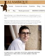 ALAMBIQUE > Blog > Mundo gastronomía > MEDEMS CATERING: ARTESANÍA GASTRONÓMICA DEL SIGLO XXI – https://www.alambique.com/blog/medems-catering-n356 – Octubre 2020